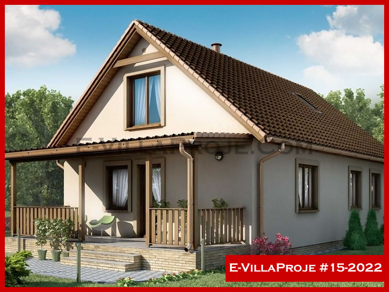 E-VillaProje #15-2022, 2 katlı, 4 yatak odalı, 164 m2
