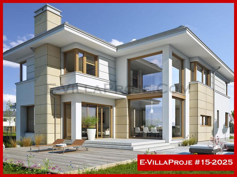 Ev Villa Proje #15 – 2025, 2 katlı, 3 yatak odalı, 336 m2