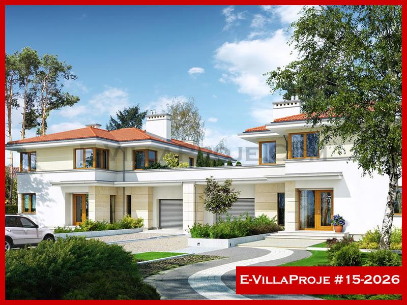 Ev Villa Proje #15 – 2026, 2 katlı, 3 yatak odalı, 278 m2