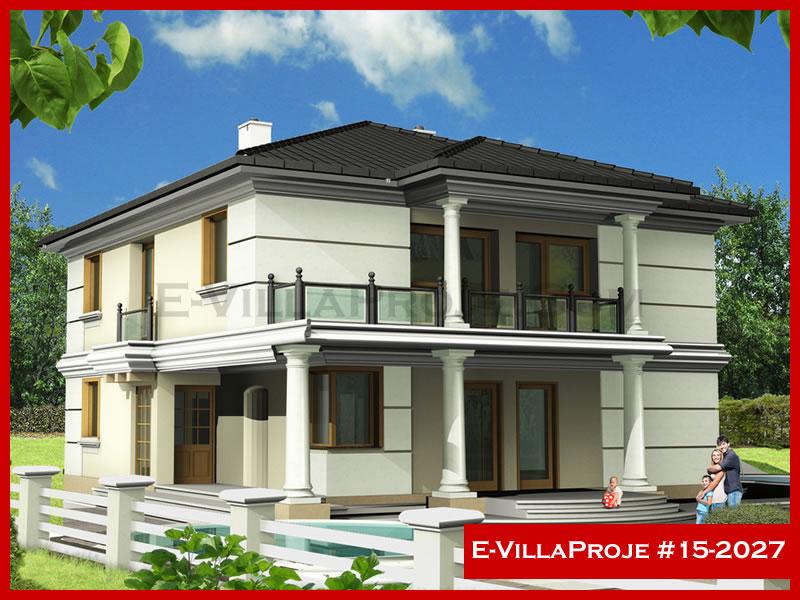 Ev Villa Proje #15 – 2027, 2 katlı, 5 yatak odalı, 266 m2