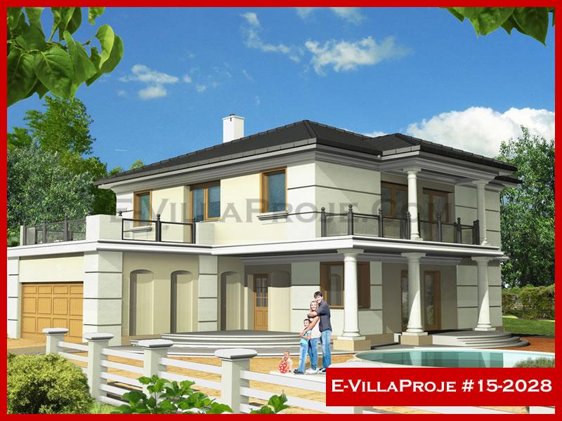 Ev Villa Proje #15 – 2028, 2 katlı, 5 yatak odalı, 2 garajlı, 260 m2