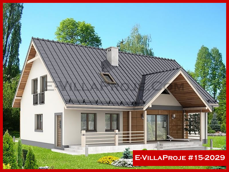 Ev Villa Proje #15 – 2029, 2 katlı, 4 yatak odalı, 210 m2