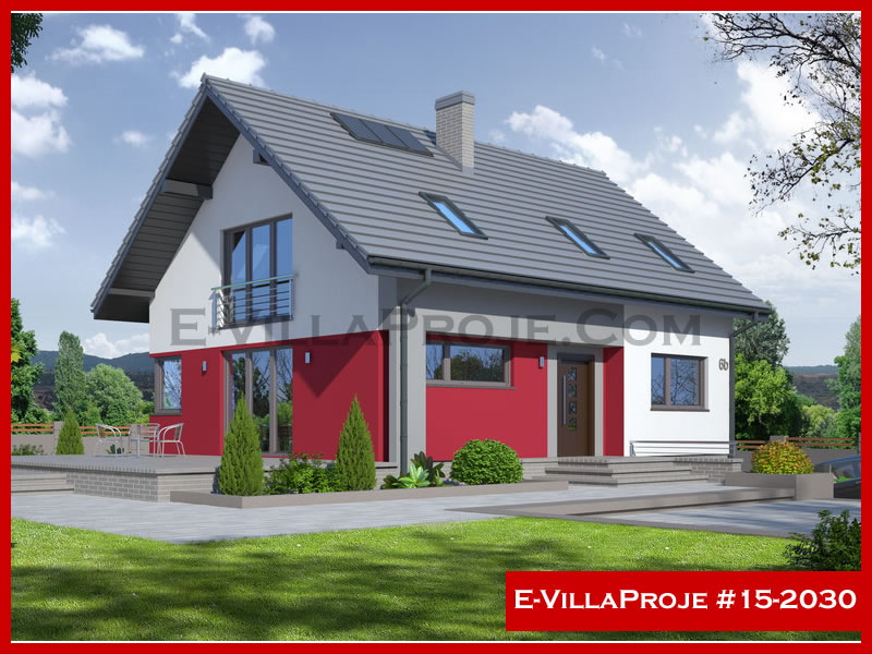 Ev Villa Proje #15 – 2030, 2 katlı, 5 yatak odalı, 207 m2