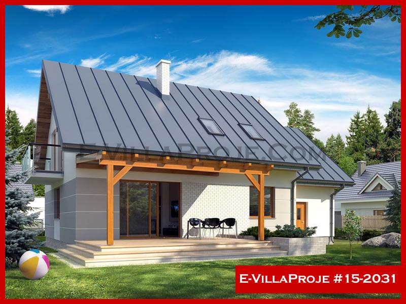 Ev Villa Proje #15 – 2031, 2 katlı, 4 yatak odalı, 1 garajlı, 230 m2