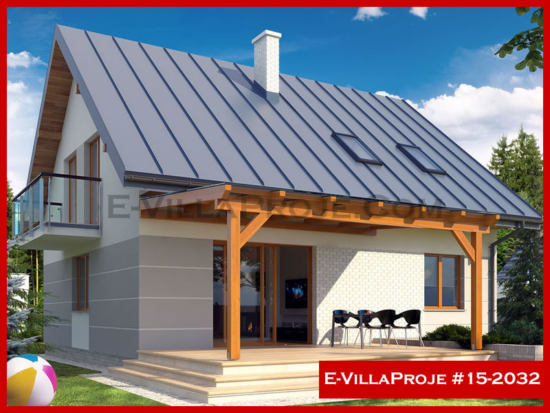 Ev Villa Proje #15 – 2032, 2 katlı, 4 yatak odalı, 212 m2