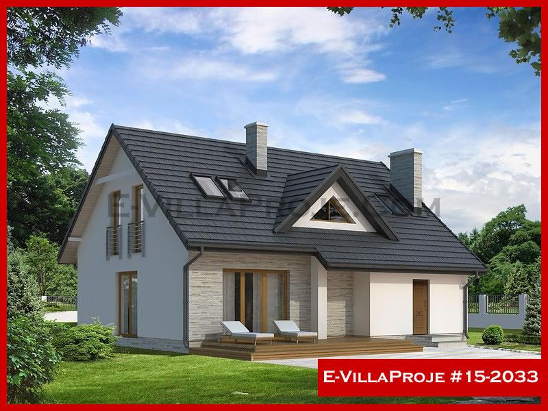 Ev Villa Proje #15 – 2033, 2 katlı, 4 yatak odalı, 212 m2