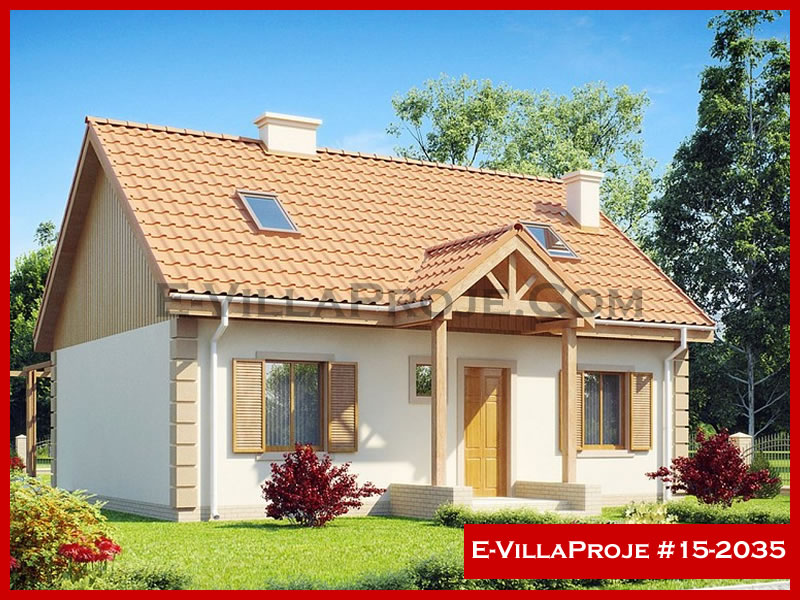 Ev Villa Proje #15 – 2035, 2 katlı, 4 yatak odalı, 172 m2