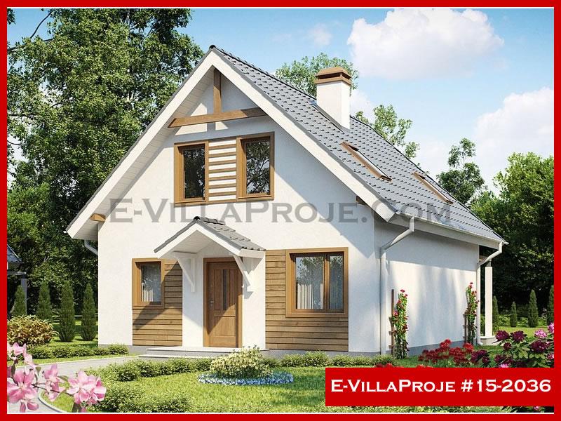 Ev Villa Proje #15 – 2036, 2 katlı, 3 yatak odalı, 162 m2