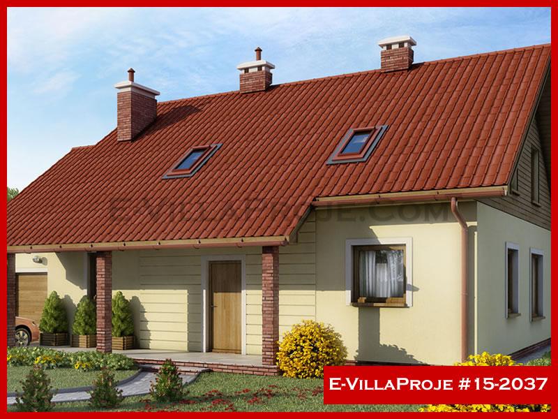 Ev Villa Proje #15 – 2037, 2 katlı, 3 yatak odalı, 240 m2