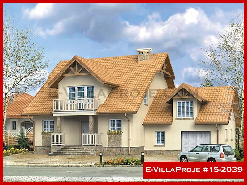 Ev Villa Proje #15 – 2039, 2 katlı, 4 yatak odalı, 1 garajlı, 280 m2