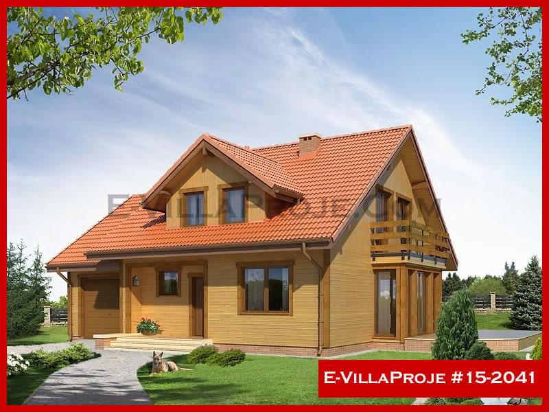 Ev Villa Proje #15 – 2041, 2 katlı, 4 yatak odalı, 1 garajlı, 210 m2