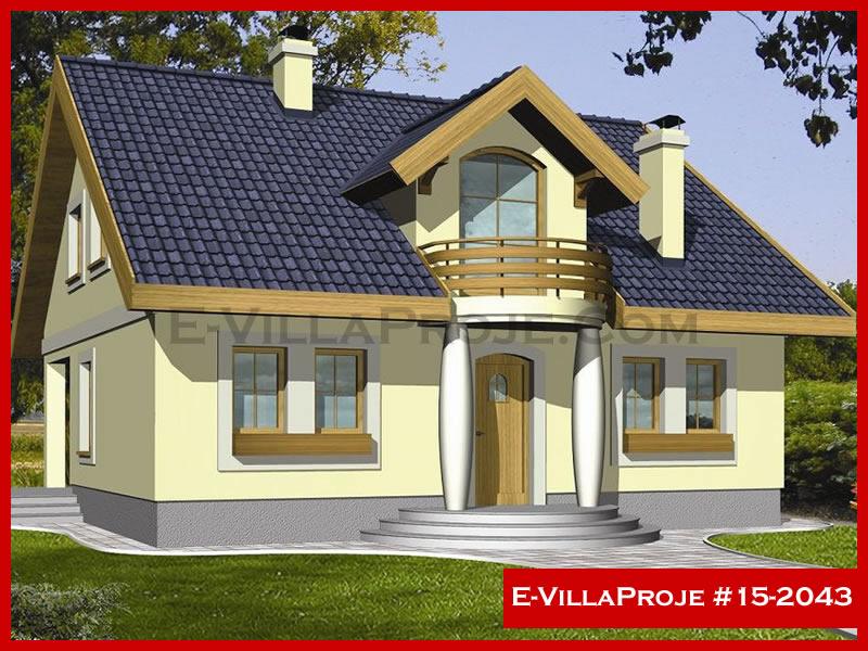 Ev Villa Proje #15 – 2043, 2 katlı, 4 yatak odalı, 200 m2