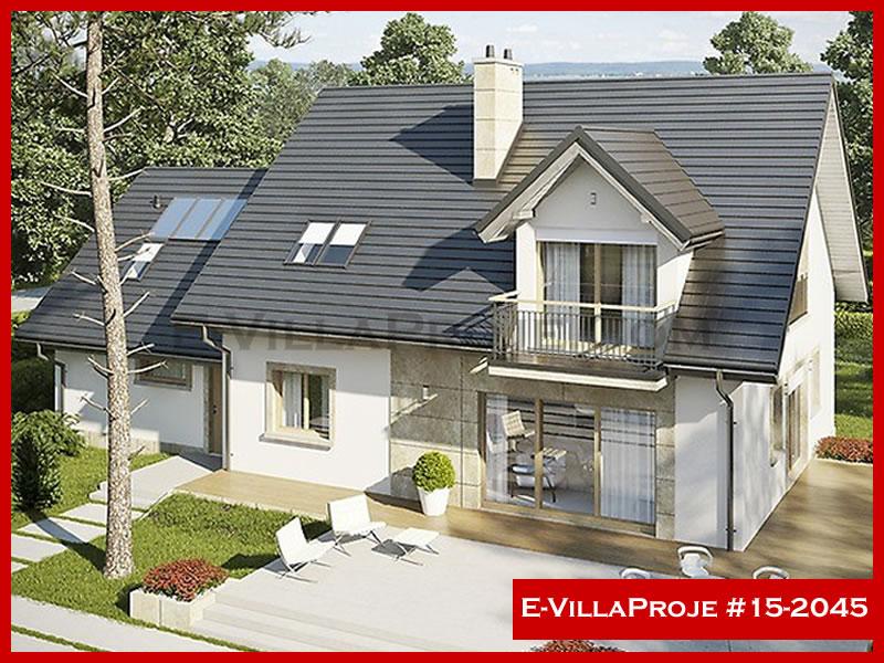Ev Villa Proje #15 – 2045, 1 katlı, 3 yatak odalı, 0 garajlı, 265 m2