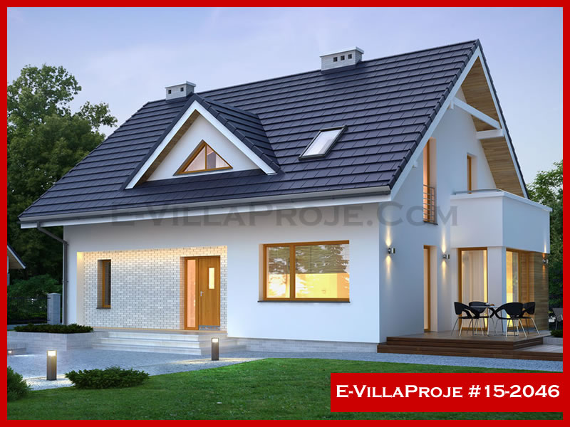Ev Villa Proje #15 – 2046, 1 katlı, 1 yatak odalı, 232 m2
