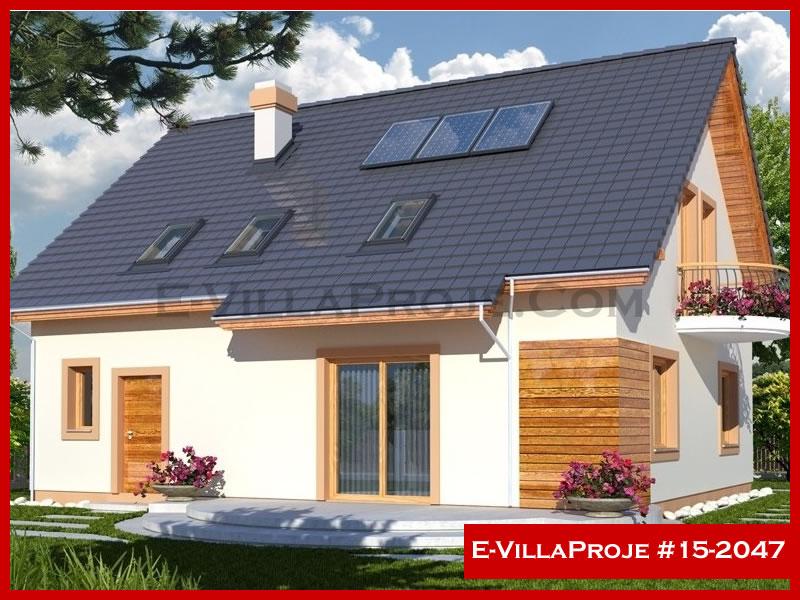 Ev Villa Proje #15 – 2047, 2 katlı, 3 yatak odalı, 226 m2