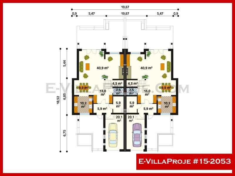 Ev Villa Proje #15 – 2053