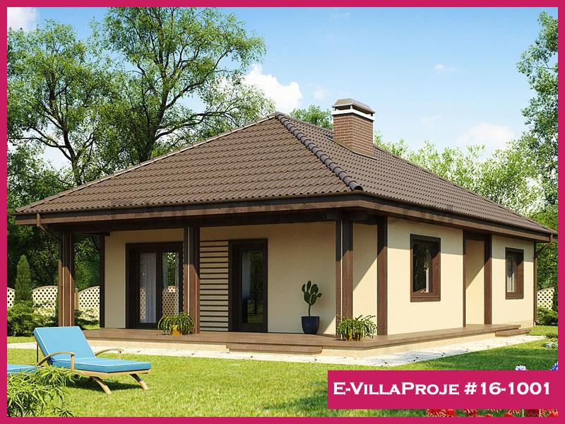 Ev Villa Proje #16-1001, 1 katlı, 2 yatak odalı, 115 m2