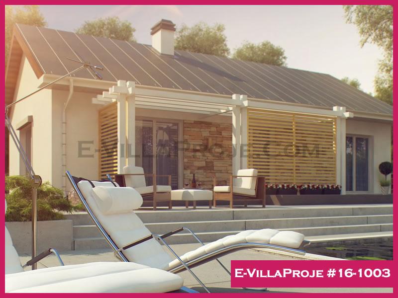 Ev Villa Proje #16-1003, 1 katlı, 1 yatak odalı, 125 m2