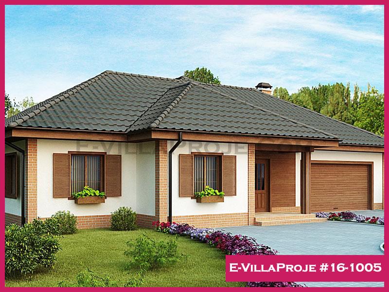 Ev Villa Proje #16-1005, 1 katlı, 3 yatak odalı, 265 m2