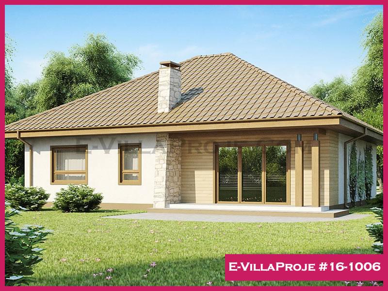 Ev Villa Proje #16-1006, 1 katlı, 2 yatak odalı, 127 m2