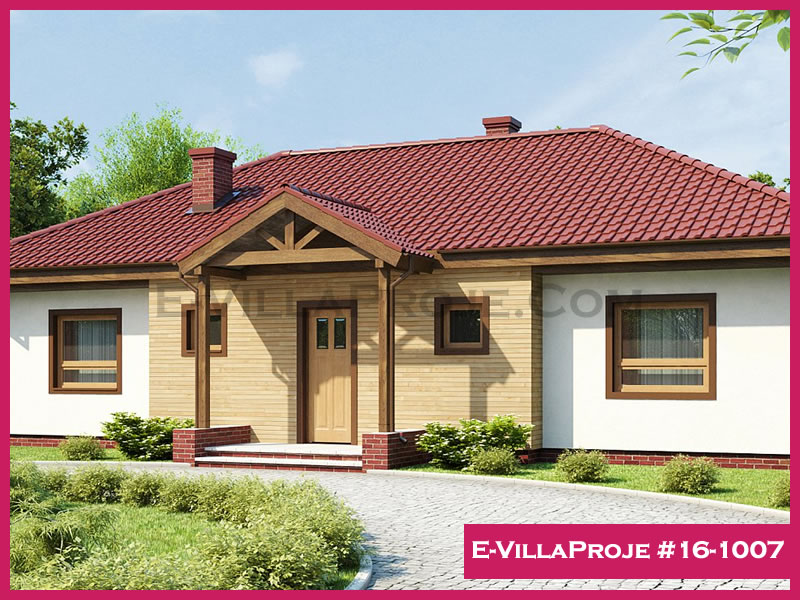Ev Villa Proje #16-1007, 1 katlı, 3 yatak odalı, 148 m2