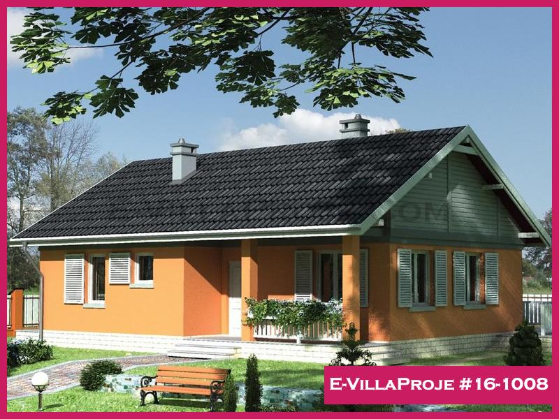 Ev Villa Proje #16-1008, 1 katlı, 2 yatak odalı, 102 m2
