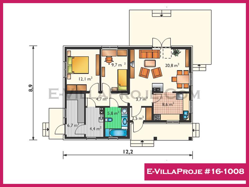 Ev Villa Proje #16-1008