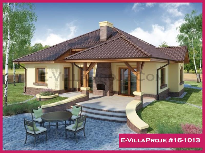 Ev Villa Proje #16-1013, 1 katlı, 3 yatak odalı, 135 m2