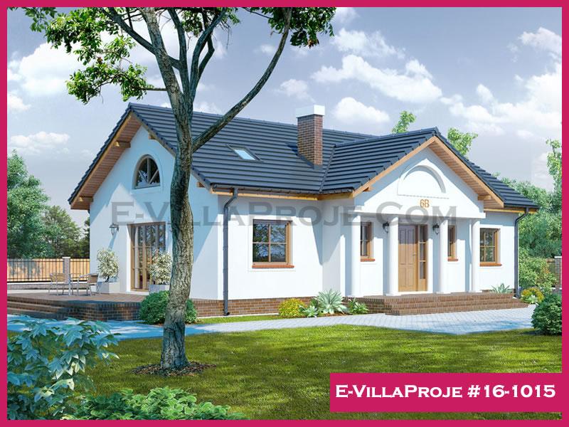 Ev Villa Proje #16-1015, 1 katlı, 3 yatak odalı, 129 m2
