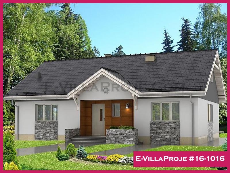 Ev Villa Proje #16-1016, 1 katlı, 3 yatak odalı, 117 m2
