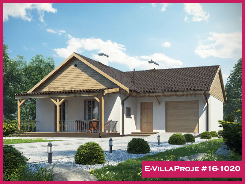 E-VillaProje #16-1020, 1 katlı, 3 yatak odalı, 95 m2