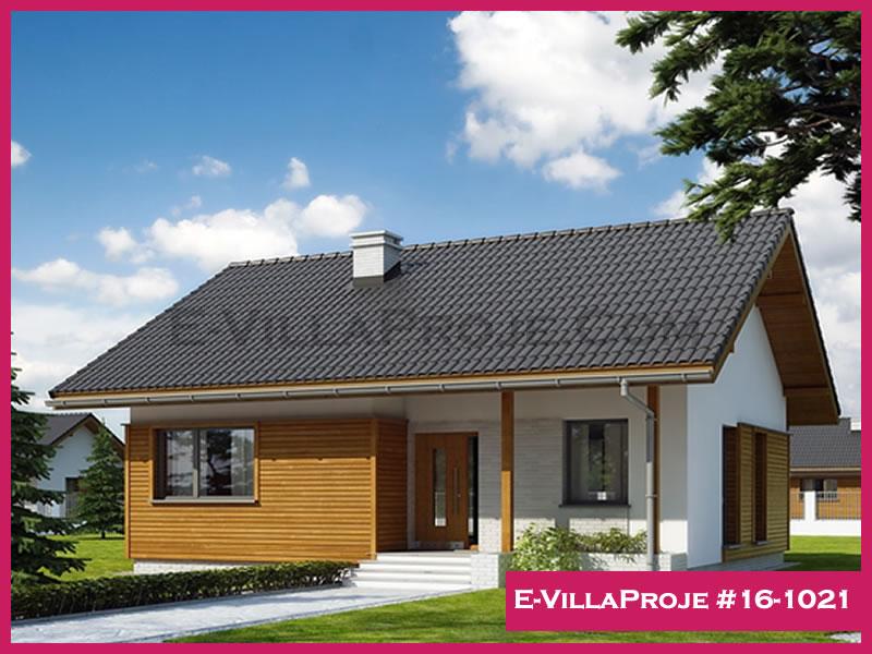 Ev Villa Proje #16 – 1021, 1 katlı, 2 yatak odalı, 93 m2