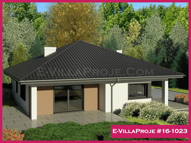 Ev Villa Proje #16 – 1023, 1 katlı, 3 yatak odalı, 154 m2