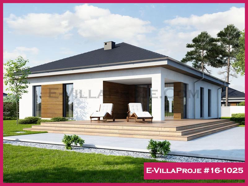 Ev Villa Proje #16 – 1025, 1 katlı, 1 yatak odalı, 162 m2