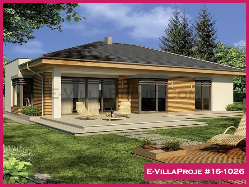 Ev Villa Proje #16 – 1026, 1 katlı, 3 yatak odalı, 162 m2