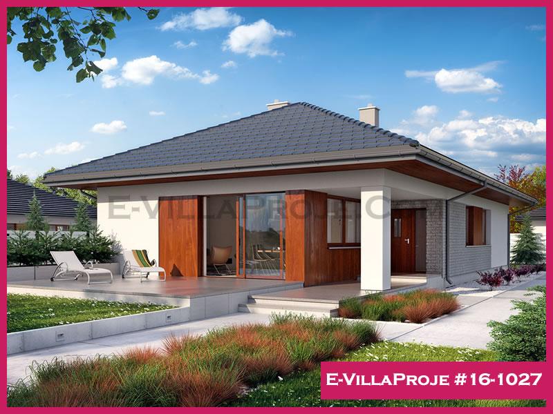 Ev Villa Proje #16 – 1027, 1 katlı, 3 yatak odalı, 160 m2