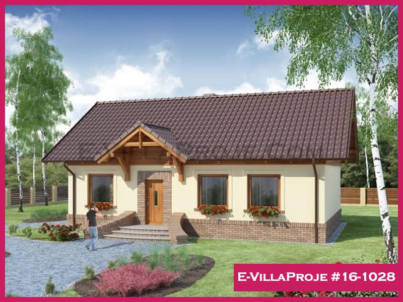 Ev Villa Proje #16 – 1028, 1 katlı, 3 yatak odalı, 123 m2
