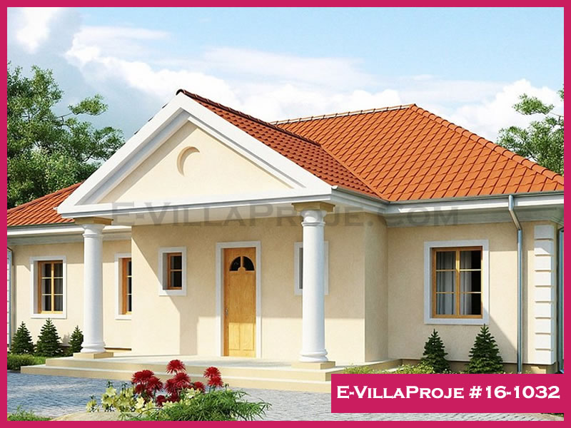 Ev Villa Proje #16 – 1032, 1 katlı, 3 yatak odalı, 134 m2