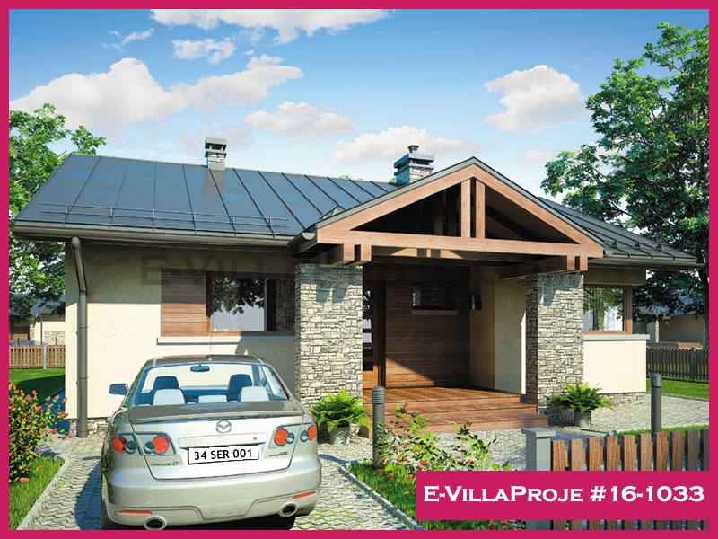 Ev Villa Proje #16 – 1033, 1 katlı, 2 yatak odalı, 102 m2