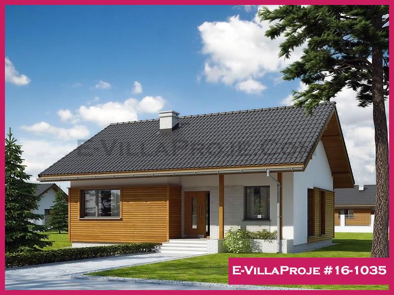 Ev Villa Proje #16 – 1035, 1 katlı, 2 yatak odalı, 93 m2