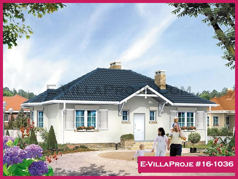 Ev Villa Proje #16 – 1036, 1 katlı, 2 yatak odalı, 128 m2
