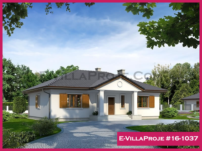 Ev Villa Proje #16 – 1037, 1 katlı, 3 yatak odalı, 143 m2