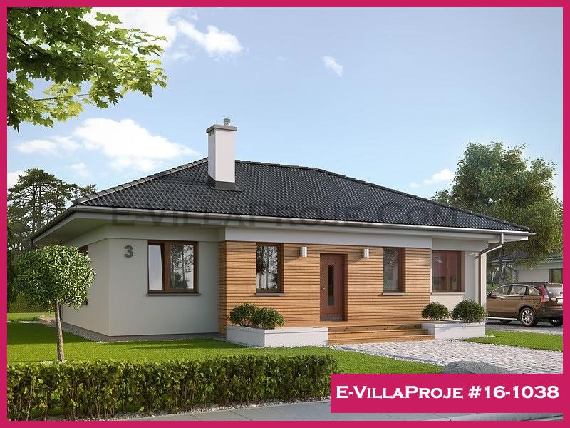Ev Villa Proje #16 – 1038, 1 katlı, 3 yatak odalı, 127 m2