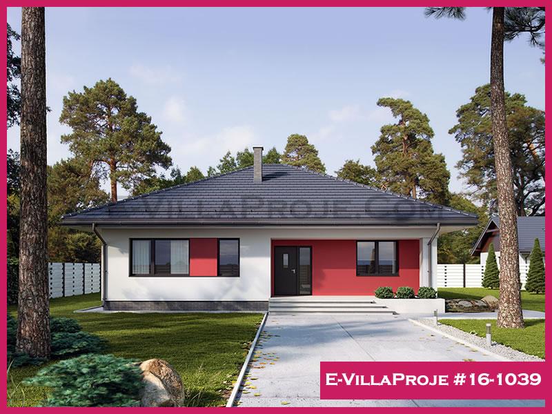 Ev Villa Proje #16 – 1039, 1 katlı, 3 yatak odalı, 152 m2