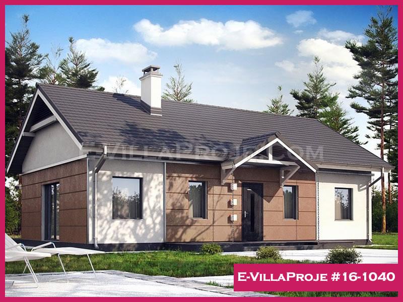 Ev Villa Proje #16 – 1040, 1 katlı, 3 yatak odalı, 115 m2