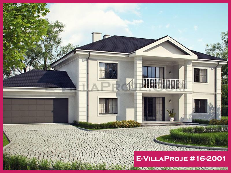 Ev Villa Proje #16-2001, 2 katlı, 4 yatak odalı, 310 m2