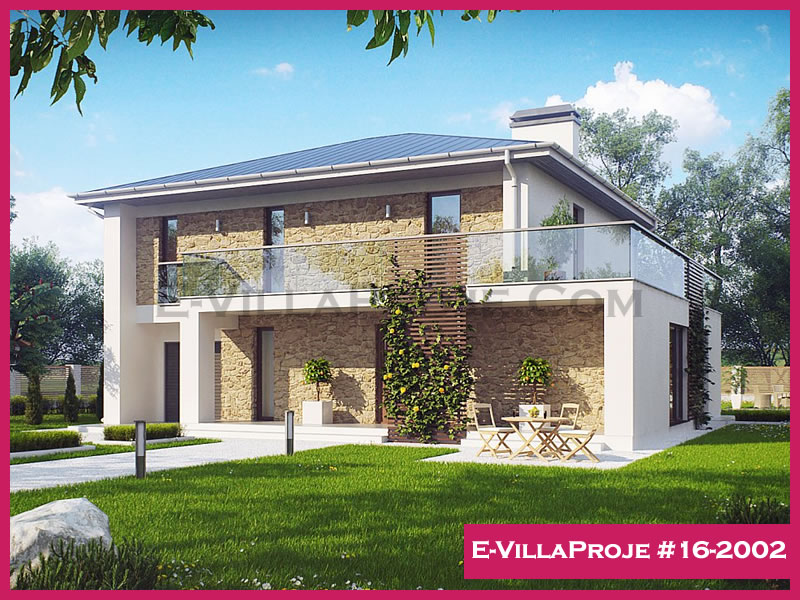 Ev Villa Proje #16-2002