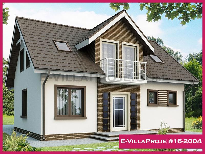 Ev Villa Proje #16-2004, 2 katlı, 4 yatak odalı, 185 m2