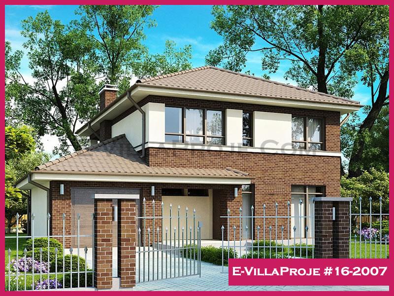Ev Villa Proje #16-2007, 2 katlı, 5 yatak odalı, 188 m2