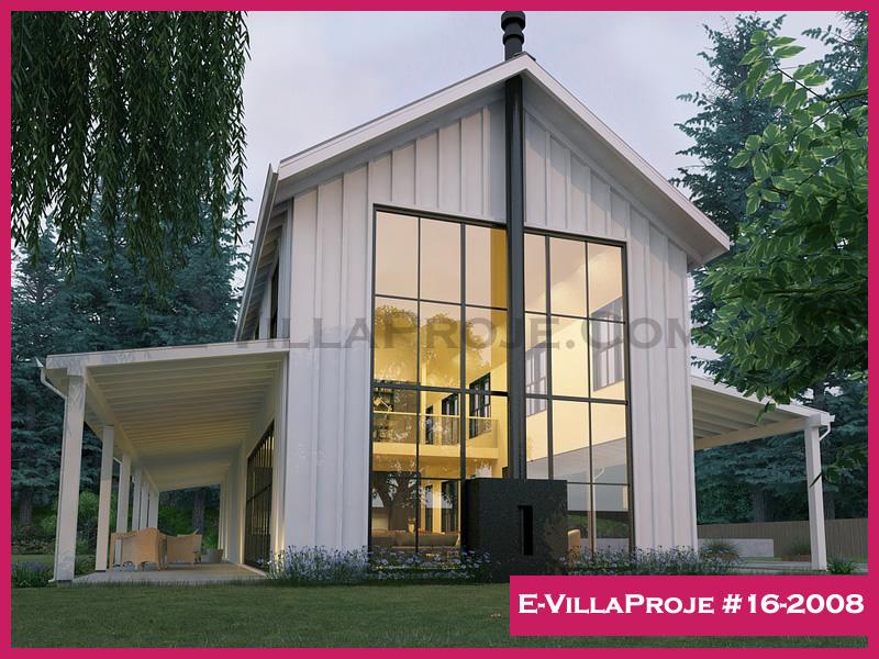 Ev Villa Proje #16-2008, 2 katlı, 3 yatak odalı, 322 m2